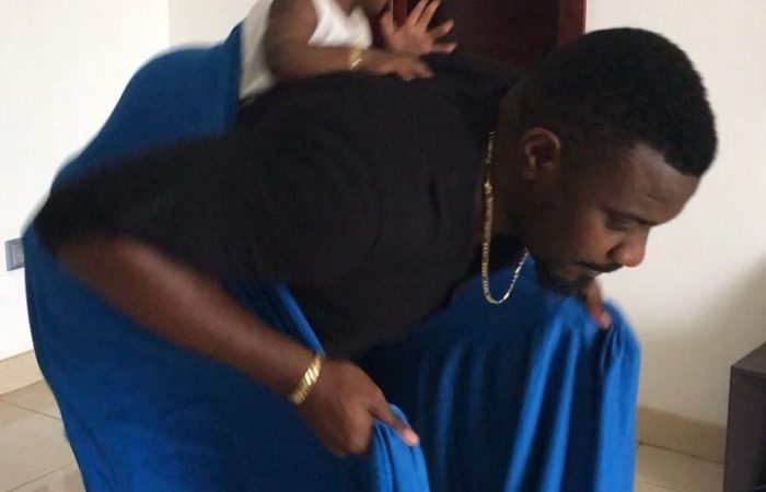 VIDEO: My Husband Is The Best Daddy In The World – John Dumelo's Wife Praises Him On Fathers Day