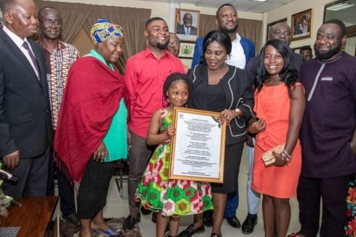 nakeeyat 10 - Talented Kidz Winner Nakeeyat Dramani Lands Impressive Deal As A Sanitation Ambassador