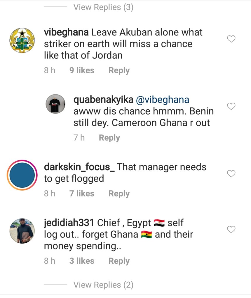'Stop Blaming Ekuban For Missing His Penalty Kick, What Good Striker Will Miss A Chance Like What Jordan Did? — Social Media User To Ghanaians 2