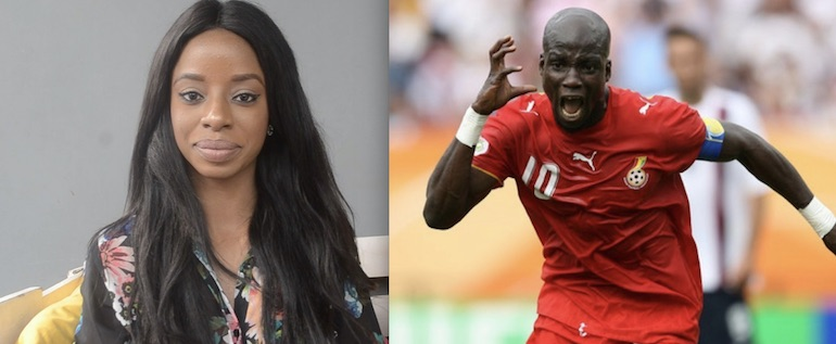 Vanessa Gyan and Stephen Appiah - GC EXCLUSIVE: Married Former Ghanaian Footballer-Stephen Appiah is the FATHER of Vanessa Gyan's Child—An INSIDER Alleges