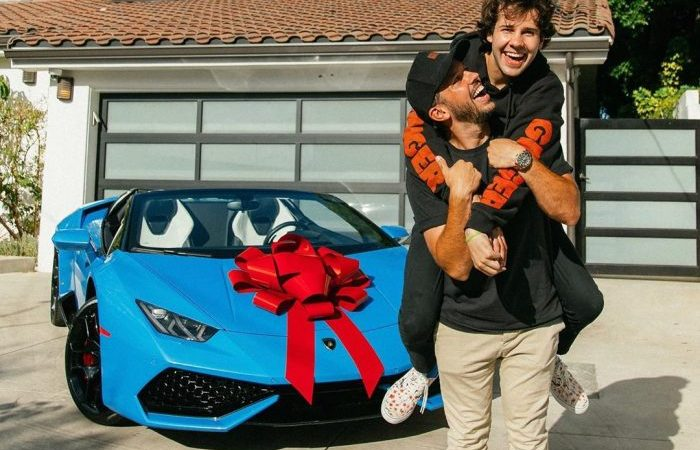 VIDEO: YouTuber David Dobrik Surprises His Friend With A Brand New Lamborghini Car And He Couldn't Stop Crying