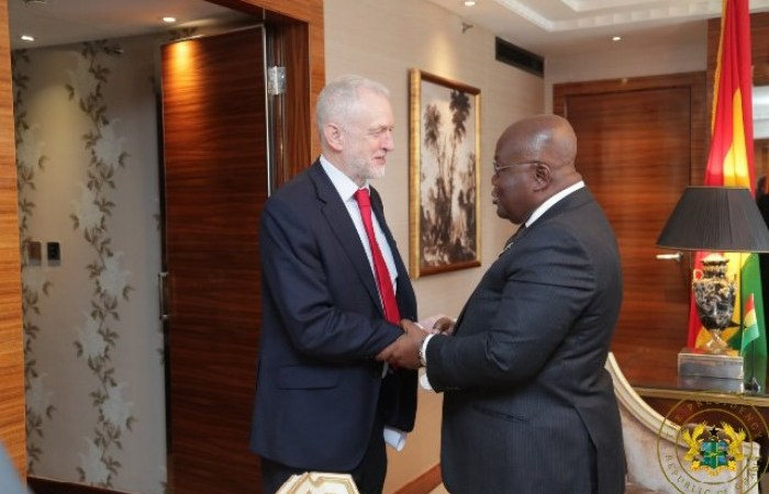 Labour Leader Jeremy Corbyn Under Fire For Visiting Ghana When He Should Be Consolidating Support To Takeover the Gov't