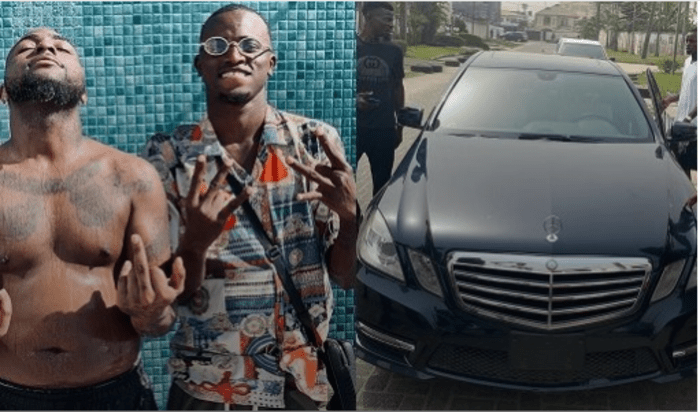 'Too Much Talk No Dey Full Basket' – Davido's Personal Assistant Aloma Says As He Flaunts His New Benz