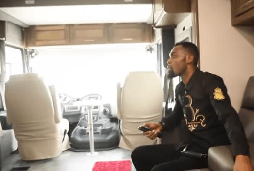 Take A Look Inside Rev. Obofour's $128,500 Coachmen Bus That Has A ...