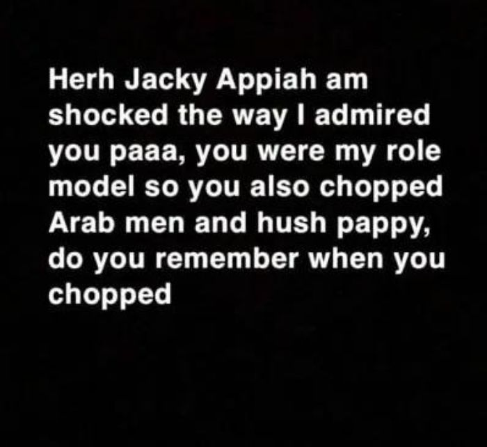 'Jackie Appiah Have Been Sleeping With Arab Men For Money' - Snapchat Blogger Reveals (Screenshot) 2