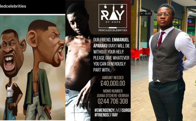 ray apraku 1 - Some Ghanaians Are Soo Mean! They've Set Up Fake GoFundMe Pages to Trick People to Donate to Them In the Name of Sick Ray Styles
