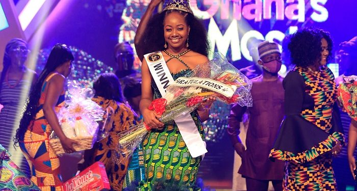 Ghana's Most Beautiful 2020, Greater Accra's Naa Crown as The Winner - Photos+ Video