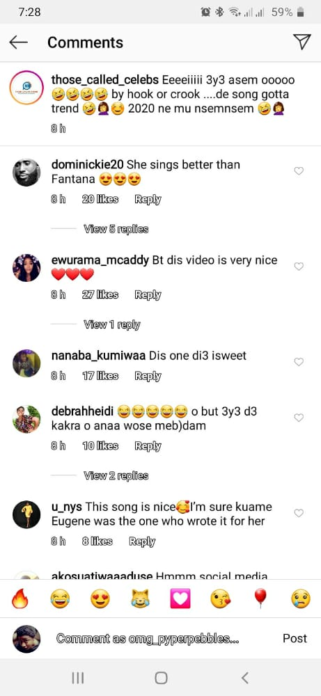 Emelia Brobbey is far better than Fantana: Fans claims after video of her and Kuami Eugene surfaced