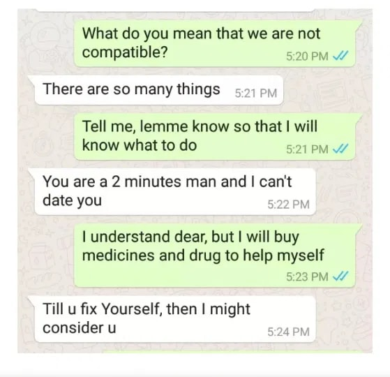 16-Year-Old SHS graduate Disgraced Sugar Daddy Because He's Weak In Bed[PHOTOS]