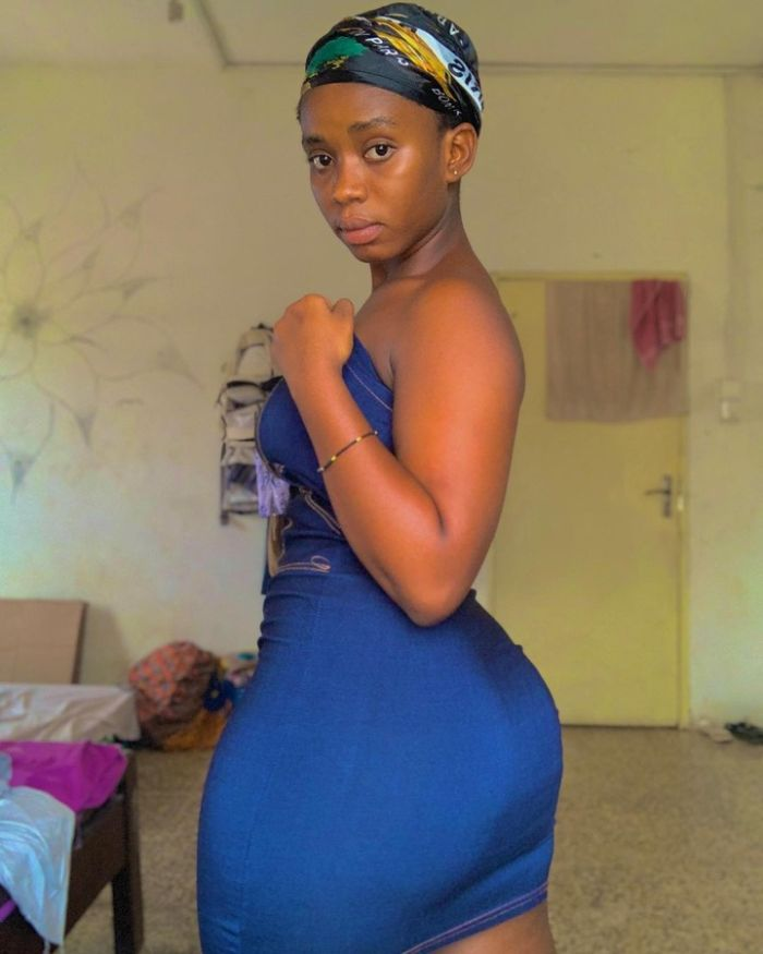 Meet Tracy! The Young Girl Who Has Dethroned Hajia Bintu With Her Huge A$$  - PHOTOS - GhanaCelebrities.Com