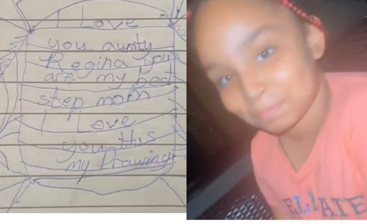 """""""You are the best step mother i have""""- Young daughter of Ned tells Regina Daniels 2"""