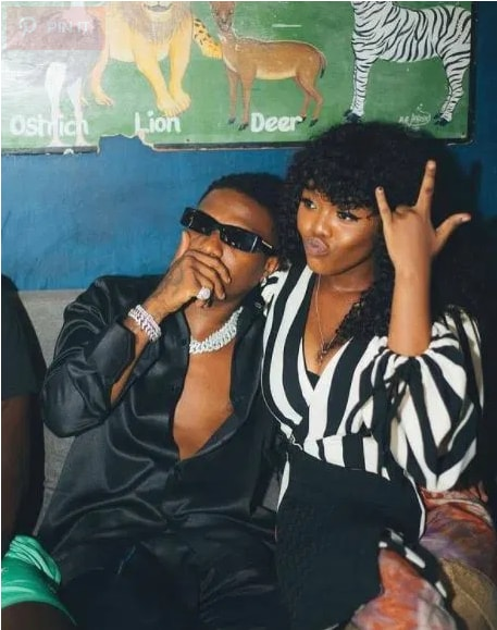 Photos Of Gyakie Getting Comfortable In The Arms Of Wizkid Causes Stir Online. 54