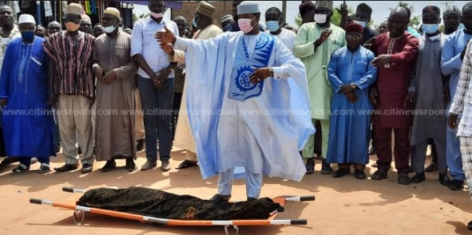 Sad Scenes From The Final Burial Rites Of 10-Year-Old Ishmael Mensah Hits Online – SEE. 54