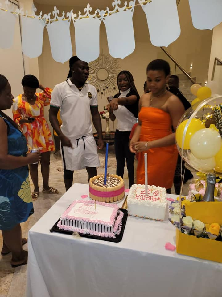 Stonebwoy storms Hassan Ayariga's house to surprise his daughter on her birthday - (Video). 52