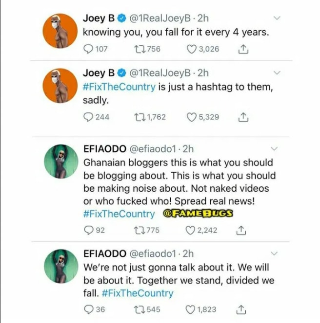 Ghanaian Politicians Use And Throw Us Away Like Condoms – Angry Efia Odo Rants On Twitter. 12
