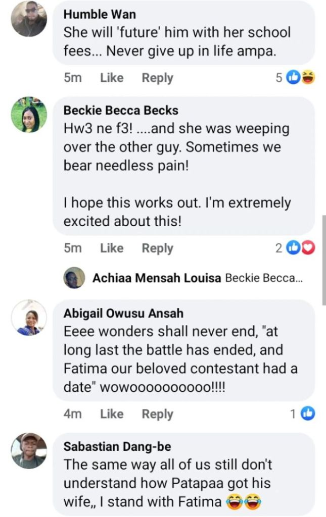 Wonders Shall Never End Indeed! – Massive Reactions As Fatima Of Date Rush Finally Gets A Date