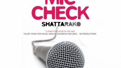 Photo of Shatta Rako – Mic Check (Stonebwoy Diss)