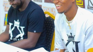 Photo of Kofi Kinaata and Team Move Management launch 2018 edition of Made in Taadi Concert at a presser in Takoradi (PHOTOS)