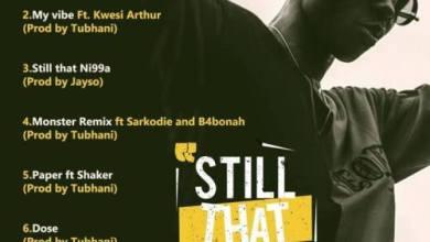 Photo of Download : Strongman Ft Shaker – Paper (Prod By Tubhani Muzik)