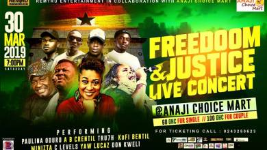 Photo of Remtru Entertainment To Hit The Oilcity With Freedoom & Justice Live Concert On The 30th Of March
