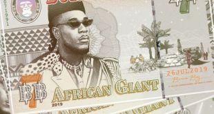 """Burna Boy – """"African Giant"""" (Full Album)"""