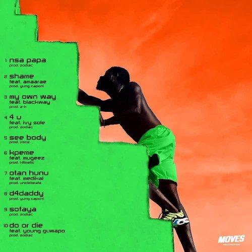 B4Bonah – B4Beginning tracklist