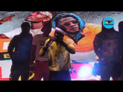 Shatta Wale x Tinny - Performance Together At Loud In Bukom