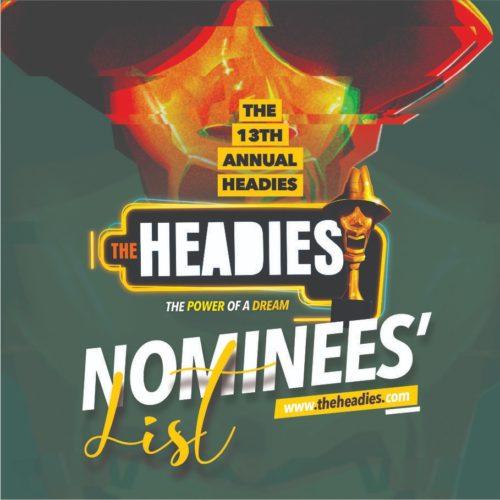 The HEADIES Award 2019 - Winners List