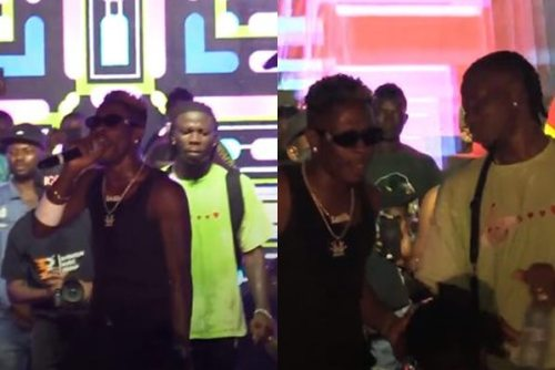 Stonebwoy and Shatta Wale performs together at 'Ashaiman To The World' Concert