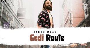 Babbu Maan - Gedi Route LYRICS