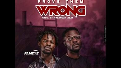 Cabum Ft Fameye - Prove Them Wrong (Prod. By Hylander Beat)