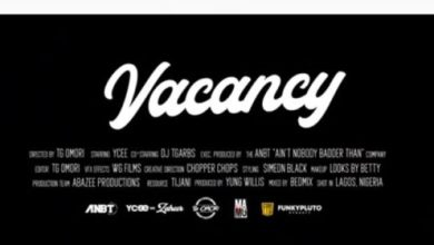Photo of Ycee – Vacancy Lyrics