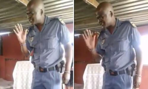 Viral Video Police Officer Prays Before Arresting A Top Pastor For Defying The Coronavirus Lockdown