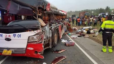 Photo of 20 lost their lives in a fatal accident on the Accra-Kumasi Highway