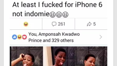 """Photo of At Least I Got Fv*ck£d To Get iPhone 6"""" Not Indomie"""
