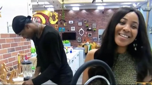 BBNaija! ERICA REVEALS SHE HAD SX IN THE HEAD OF HOUSE LOUNGE