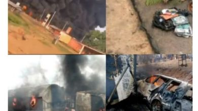 Photo of Countless Persons Including Primary School Kids Burnt To Death In A Petrol Tanker Explosion In Kogi (Graphic)