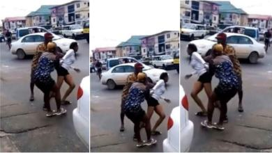 Photo of Cute Teen Runs Mad Right After Dropping From A Guy's Benz Car In Town