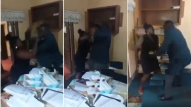 Photo of Did This Guy Beat A Female Lawyer In Her Office Breaks? Watch Video Here
