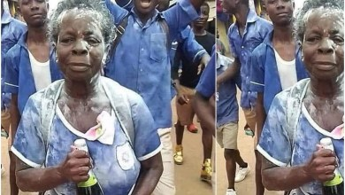 Photo of Oldest Ghana's 2020 BECE candidate, Elizabeth Yamoah Finally Finish Her Final Exams