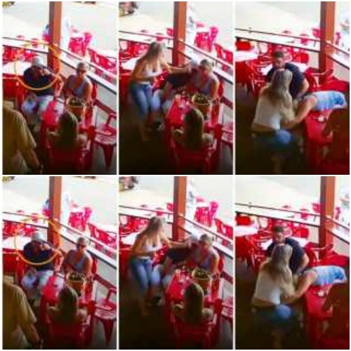 See What Happened To A Man Busted By Wife For Going On A Date With Another Lady - Video Here