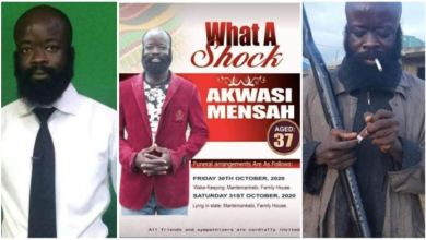 Photo of I Am Not Dead – Kumawood actor Sekyere Amankwah Throw More Light on death rumours; explains funeral poster