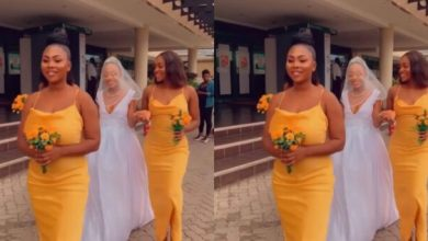 Photo of Video From Akuapem Poloo's Wedding – Watch Here
