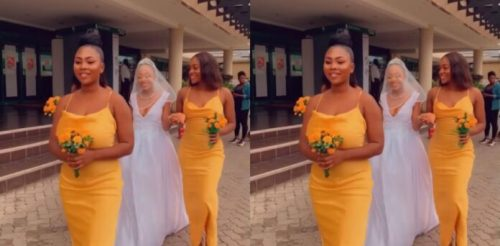 Video From Akuapem Poloo's Wedding - Watch Here