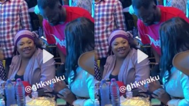 Photo of Ahh Did Jackie Appiah Refused A Kiss From Funny Face ? – Watch Video Here