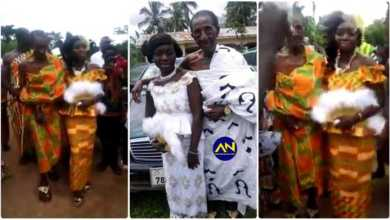 24 Year Old Lady Marries A 90 Year Old Man - Video Will Make You Cry