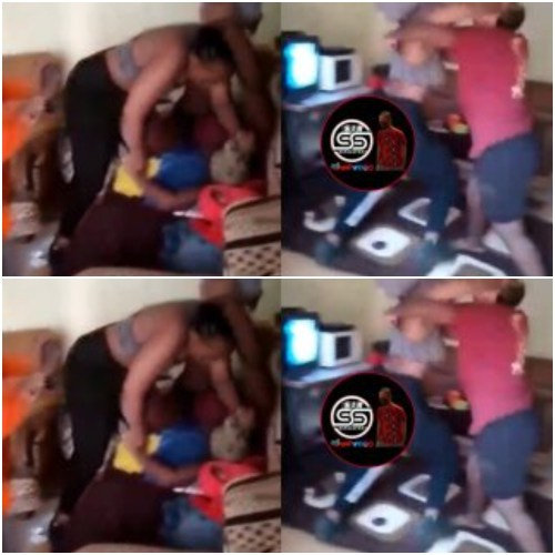 Another Wahala - See New Trending Video Of 2 Grown Ass Ladies Fighting Over A Guy