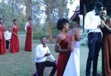 Photo of Bridesmaid Accepted Guys Proposal At Friend's Wedding – Video Below