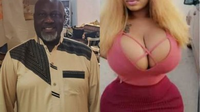 Photo of Dino Melaye Was Captured On Camera With Curvy Model, Roman Goddess In A Hotel (Video)