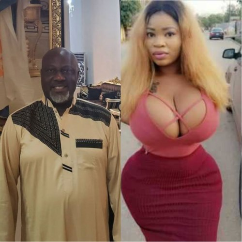 Dino Melaye Was Captured On Camera With Curvy Model, Roman Goddess In A Hotel (Video)